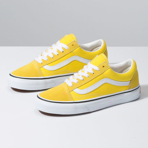 Imagen de VANS TENIS H. OLD SKOOL VIBRANT YELLOW-TRUE WHITE